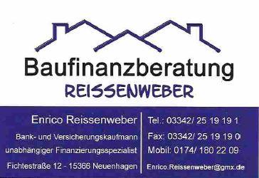 Enrico Reissenweber Finanzierung Neuenhagen