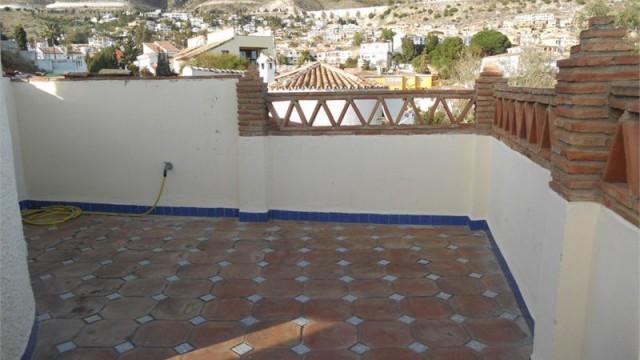 Eine Terrasse