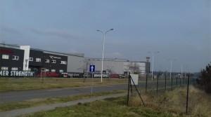 Gewerbegrundstück Lager Halle Produktion direkt an einer Hauptstraßen Richtung Breslau