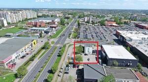 Dienstleistungs- und Bürogebäude in der Stadt Slupsk 3km vom Stadtring Stolp in Polen