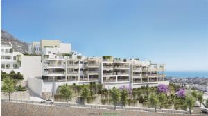 Benalmadena, Neubauwohnungen mit gigantischem Meerblick zum Superpreis