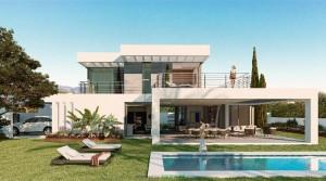 Marbella, letzte Luxus – Villa mit Meerblick, Fertigstellung Juni 2018.