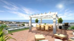 Mediterranes Luxuspenthouse