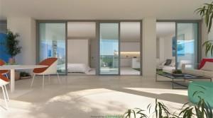 Benalmadena Costa, schicke Neubauwohnung im Erdgeschoss