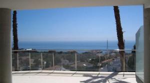 Unglaublich 140 m² Dachterrasse, Panorama Meerblick, Super-Luxus-Penthouse Benalmadena