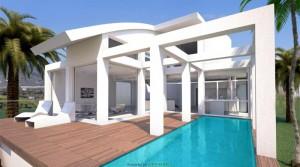 Absolute Ruhe, Designer-Villa, mit vielen Möglichkeiten.