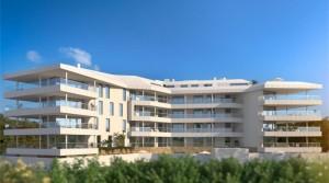 Torreblanca, wunderschöne Erdgeschoss-Neubau-Wohnungen mit 70 m² Terrasse