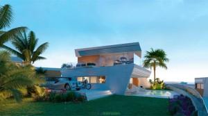 Luxushäuser mit Meerblick in Toplage von El Chaparral – Mijas Costa