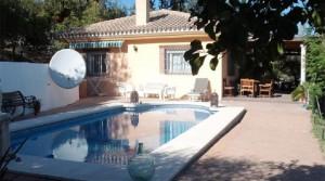 Landhausvilla in Coín mit eigenem Pool und großem Grundstück