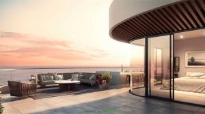 Vor dem Frühstück zum Baden ins Meer, Luxus Wohnungen in Playamar – Torremolinos