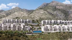 Benalmadena, Neubau-Wohnungen mit wunderschönem Meerblick zum Superpreis