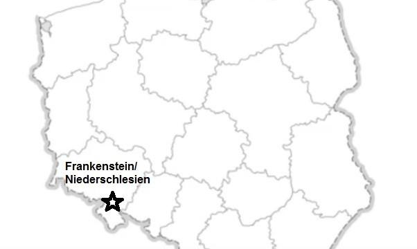 Mapa Kamieniec