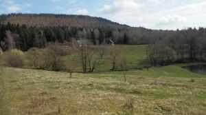 Ein großes wunderschönes, malerisches Landgut im Tafel-Gebirge, in Niederschlesien.